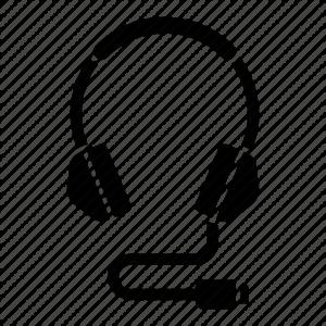אוזניות קשת חיבור USB