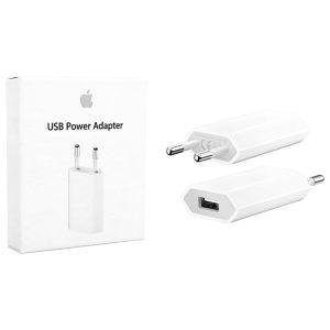 מטען קיר מקורי Apple iPhone 5W 1A USB