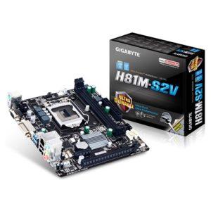 לוח אם Gigabyte H81 VGA DVI Micro ATX