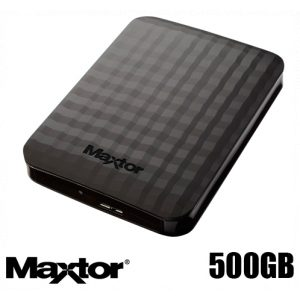 דיסק קשיח חיצוני Maxtor M3 Portable 500GB