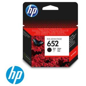 ראש דיו מקורי בשחור HP 652 F6V25AE