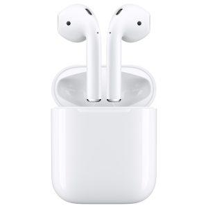 אוזניות אלחוטיות Apple AirPods עם כיסוי טעינה