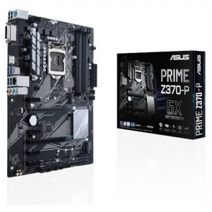 לוח אם Asus Prime Z370-P LGA1151v2, Intel Z370, DDR4, 2xPCI-E, DVI, HDMI