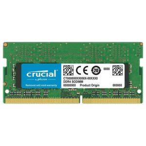 זיכרון למחשב נייד Crucial SODIMM 8GB DDR4 2666Mhz
