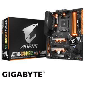 לוח אם Gigabyte GA-AX370-Gaming K5
