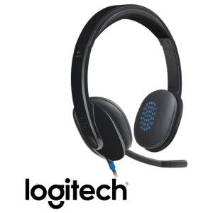 אוזניות + מיקרופון Logitech USB Headset H540