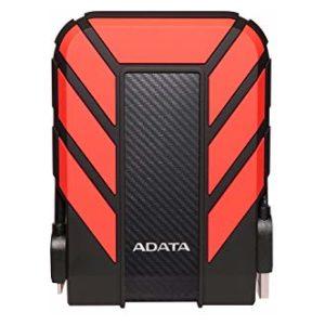 דיסק קשיח חיצוני ADATA HD710 Pro External HD 2TB IP68 Red