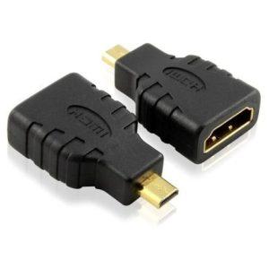 מתאם Micro HDMI זכר לחיבור HDMI נקבה