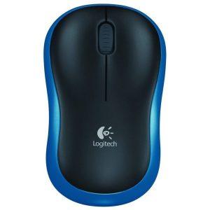 עכבר אלחוטי Logitech Wireless Mouse M185 Blue Retail