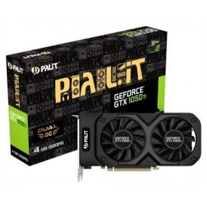כרטיס מסך Palit GeForce GTX 1050 Ti Dual 4GB DDR5 128bit