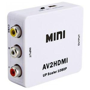 מתאם מחיבור RCA לחיבור HDMI