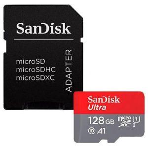 כרטיס זיכרון SanDisk Ultra SDSQUAR-128G - נפח 128GB