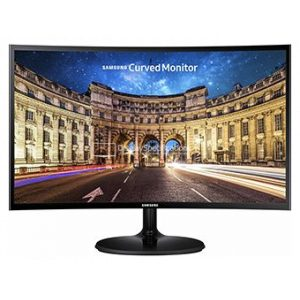 מסך מחשב קעור Samsung C27F390FH 27'' LED VA צבע שחור