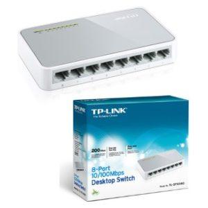 מתג TP-Link TL-SF1008D 8 Ports 10/100Mbps Switch