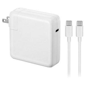 מטען מקורי למחשב אפל Apple MNF82LL/A USB-C 87W