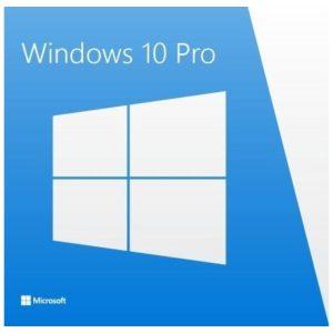 מערכת הפעלה Microsoft Windows 10 Professional English 64Bit