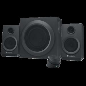 רמקולים Logitech 2.1 Multimedia Z333 Retail צבע שחור