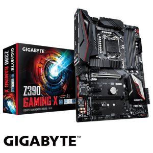 לוח אם Gigabyte Z390 GAMING X LGA1151v2, Intel Z390, DDR4, 2xPCI-E, HDMI