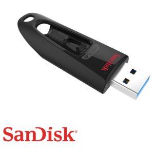 זכרון נייד SanDisk Ultra USB 3.0 16GB