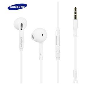 אוזניות מקוריות של SAMSUNG עם בקר שליטה ומיקרופון למכשירי גלקסי