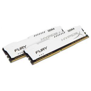 זכרון למחשב HyperX FURY White 2x16GB DDR4 3466MHz CL19 Kit