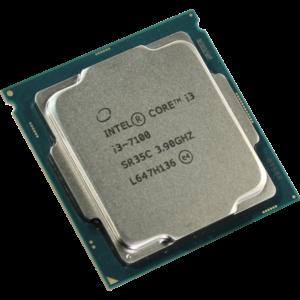 מעבד אינטל Intel Core i3 7100 3.9Ghz 3MB Cache s1151 - Tray