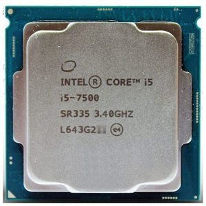 מעבד אינטל Intel Core i5 7500 3.4Ghz 6MB Cache s1151 - Tray