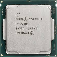 מעבד אינטל Intel Core i7 7700K 4.2Ghz 8MB Cache s1151 - Tray