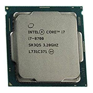 מעבד אינטל Intel Core i7 8700 3.2Ghz 12MB Cache s1151v2 - Tray