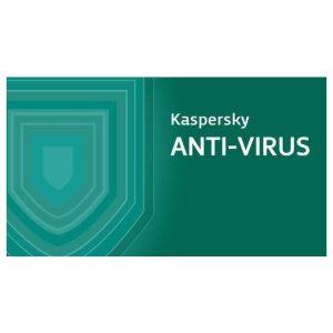 אנטי וירוס ללא דיסק התקנה Kaspersky AntiVirus - שנה אחת - מחשב אחד
