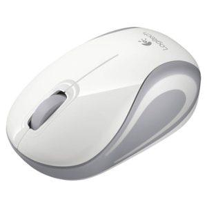 עכבר אלחוטי Logitech Mini M187 Retail - צבע לבן