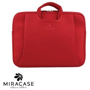 תיק מעטפה למחשב נייד Miracase 13.3 - 14.0 Inch - צבע אדום