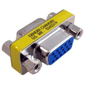מתאם מחיבור VGA נקבה לחיבור VGA נקבה