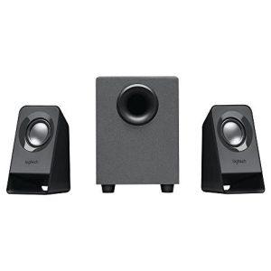 רמקולים למחשב Logitech Z211 2.1 USB Stereo Retail צבע שחור